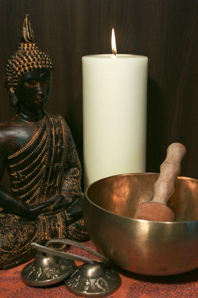 kostenloses foto klangschale buddha wei e kerze frei verwendbar. Black Bedroom Furniture Sets. Home Design Ideas