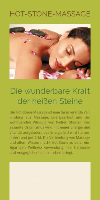 Flyer Hot-Stone-Massage