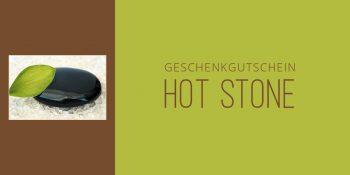 Geschenkgutschein Hot-Stone-Massage