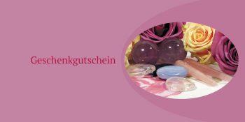 Geschenkgutscheinkarte Edelstein-Massage