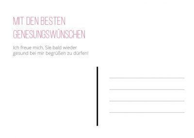 Genesungskarte rosa Seite 2