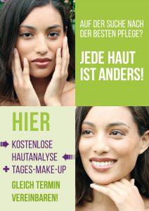 Plakat Hautanalyse grün