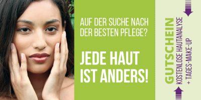 Gutschein Hautanalyse grün