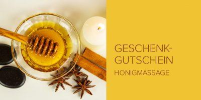 Geschenkgutschein Honigmassage