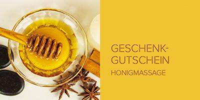 Geschenkgutscheinkarte Honigmassage S. 1