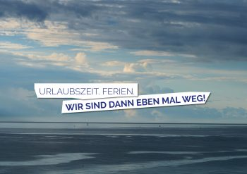 Urlaubsmotiv Meer Wir