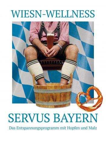 Plakat Oktoberfest Wellness Herren