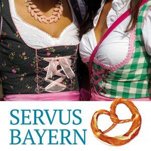 Plakat Oktoberfest Wellness Damen