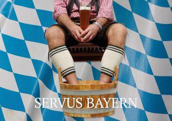 Servus Bayern Fußbad