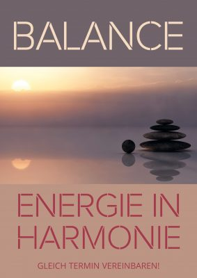 Plakat Balance