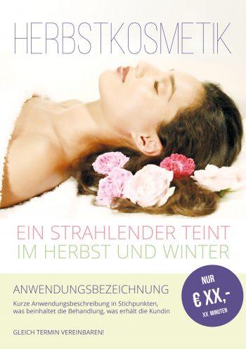 Plakat Herbstkosmetik Preis