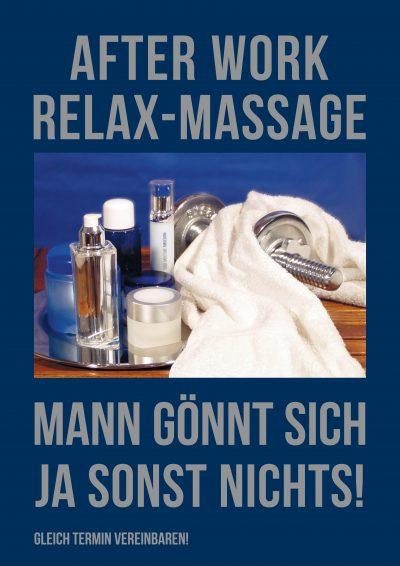 Plakat After Work Herren