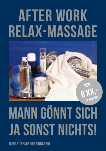 Plakat After Work Herren Preis