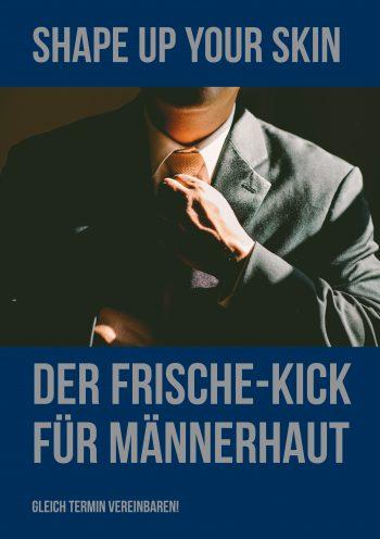 Plakat Frische-Kick Herren