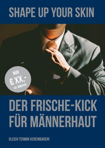 Plakat Frische-Kick Herren Preis