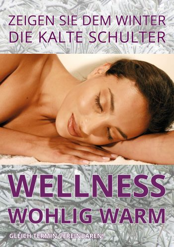 Plakat Winter-Wellness
