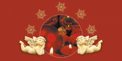 Geschenkgutschein Weihnachten rot Seite 2