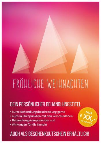 Plakat Weihnachten abstrakt Angebot