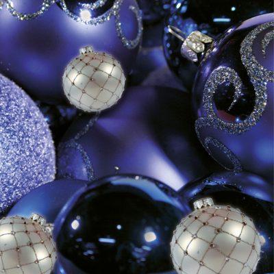 Dankeschön-Gutschein Weihnachten blau Seite 4