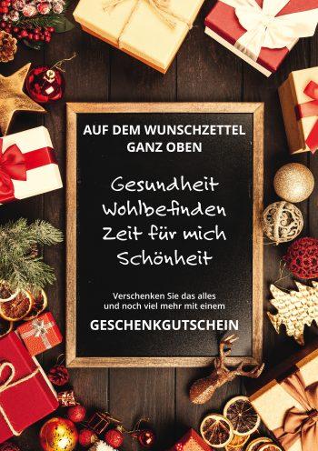 Plakat Weihnachten Wunschzettel