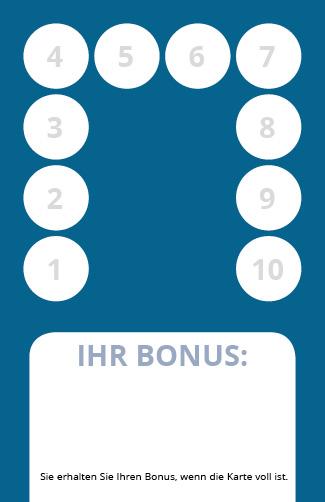 Bonuskarte Fußpflege 10er