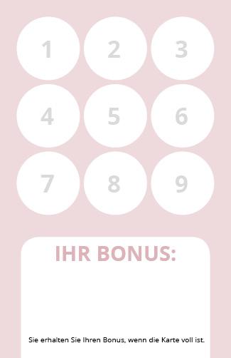 Bonuskarte Relax 9er