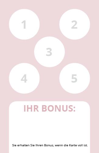 Bonuskarte Relax 5er