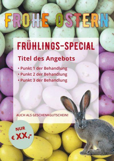 Plakat Ostern Frühlings-Special