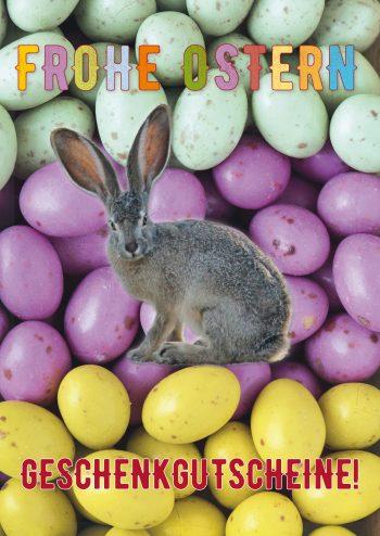 Plakat Ostern Geschenkgutscheine
