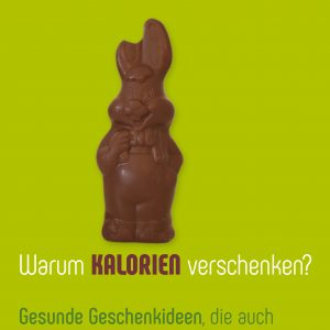 Plakat Ostern Schokohase Beauty