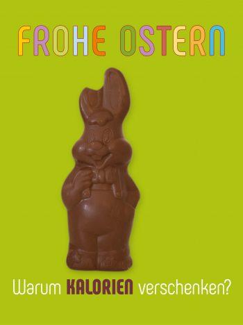 Frohe Ostern Schokohase