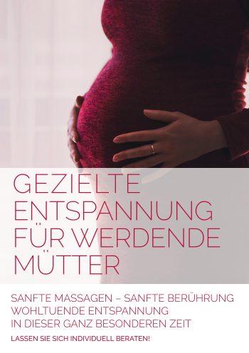 Plakat Entspannung Schwangerschaft