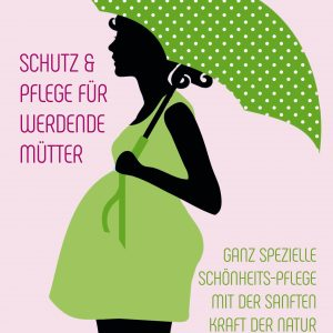 Plakat Kosmetik Schwangerschaft