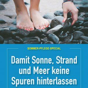 Plakat Sommer-Pflege-Special