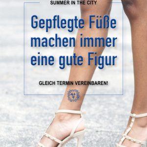 Plakat Summer City Füße