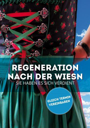 Plakat Regeneration Wiesn Dirndl