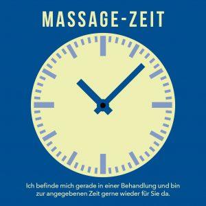Behandlungsuhr Massagezeit