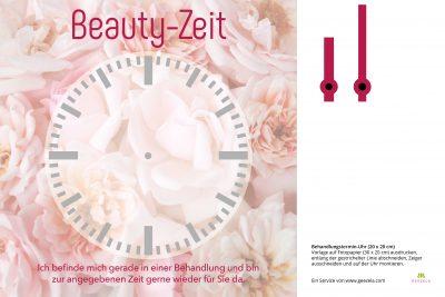 Behandlungsuhr Beauty Rosen