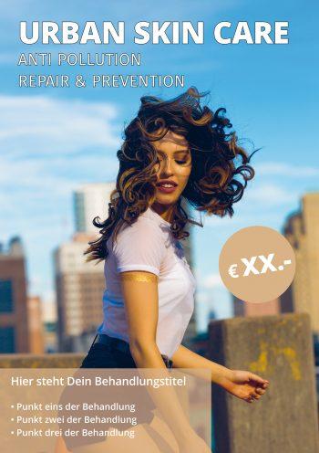 Plakat Urban Skin Angebot