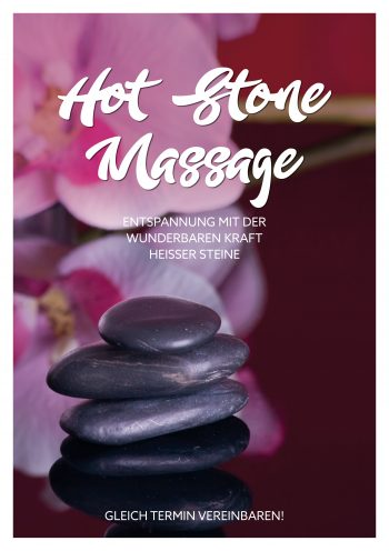 Plakat Hot-Stone-Massage 2