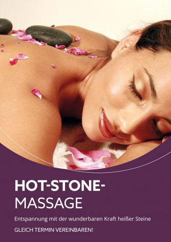 Plakat Hot-Stone-Massage 4