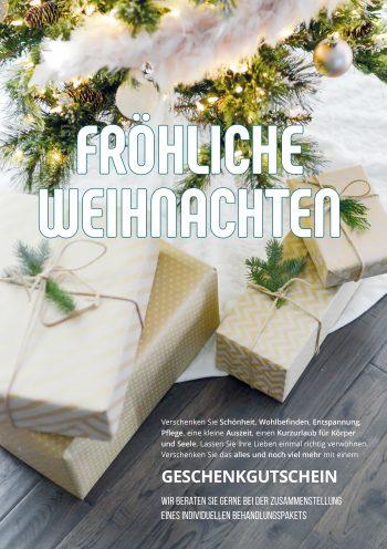 Plakat Weihnacht elegant
