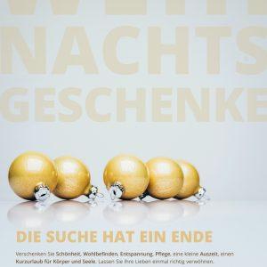 Plakat Weihnachtsgeschenke