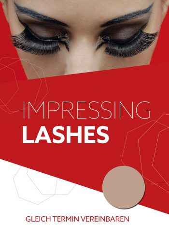 Plakat Impressing Lashes