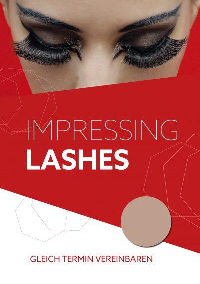 Plakat Impressing Lashes