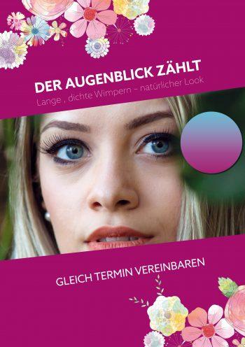Plakat Augenblick violett Preis