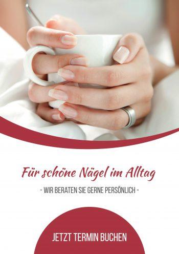 Plakat Nails Alltag