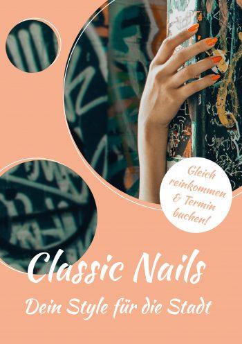 Plakat Classic Nails