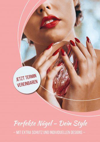 Plakat Nails Dein Style