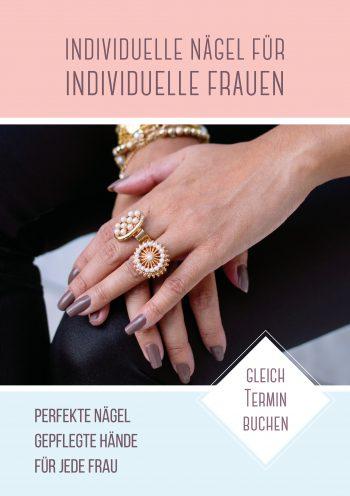 Plakat Nails individuell